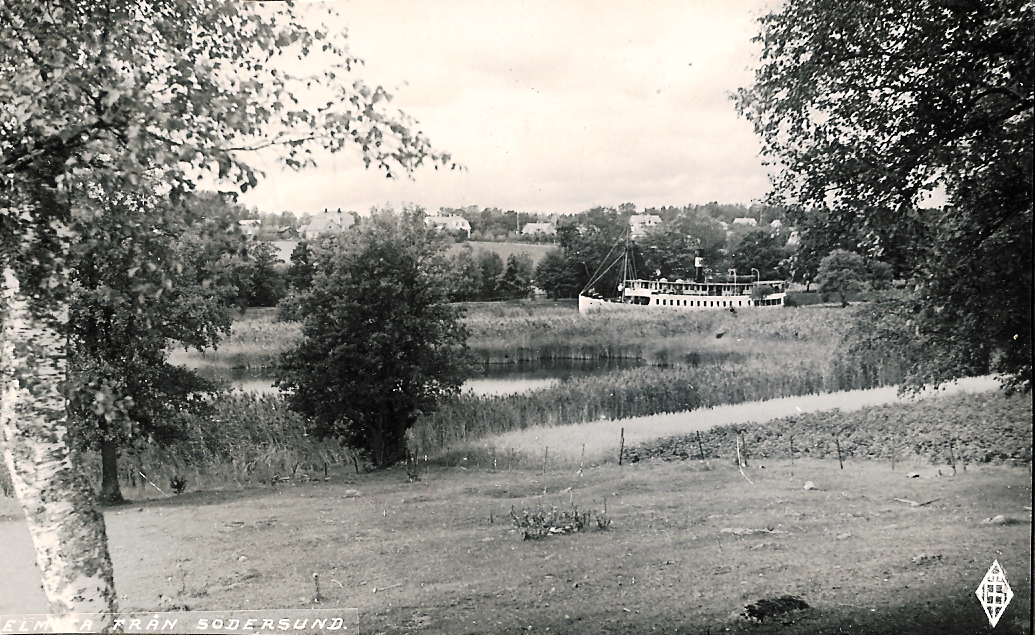 Elmsta från Södersund 1930-tal