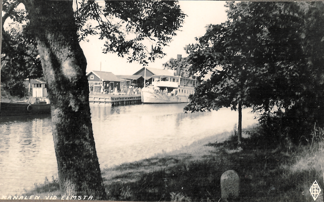 Kanalen vid Elmsta 1930-tal