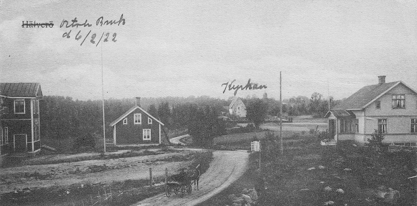 Skickat 1922
