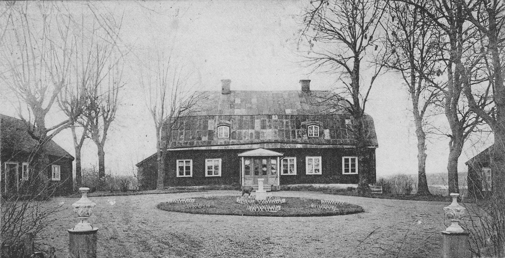Väddö Prästgård. Skickat 1904