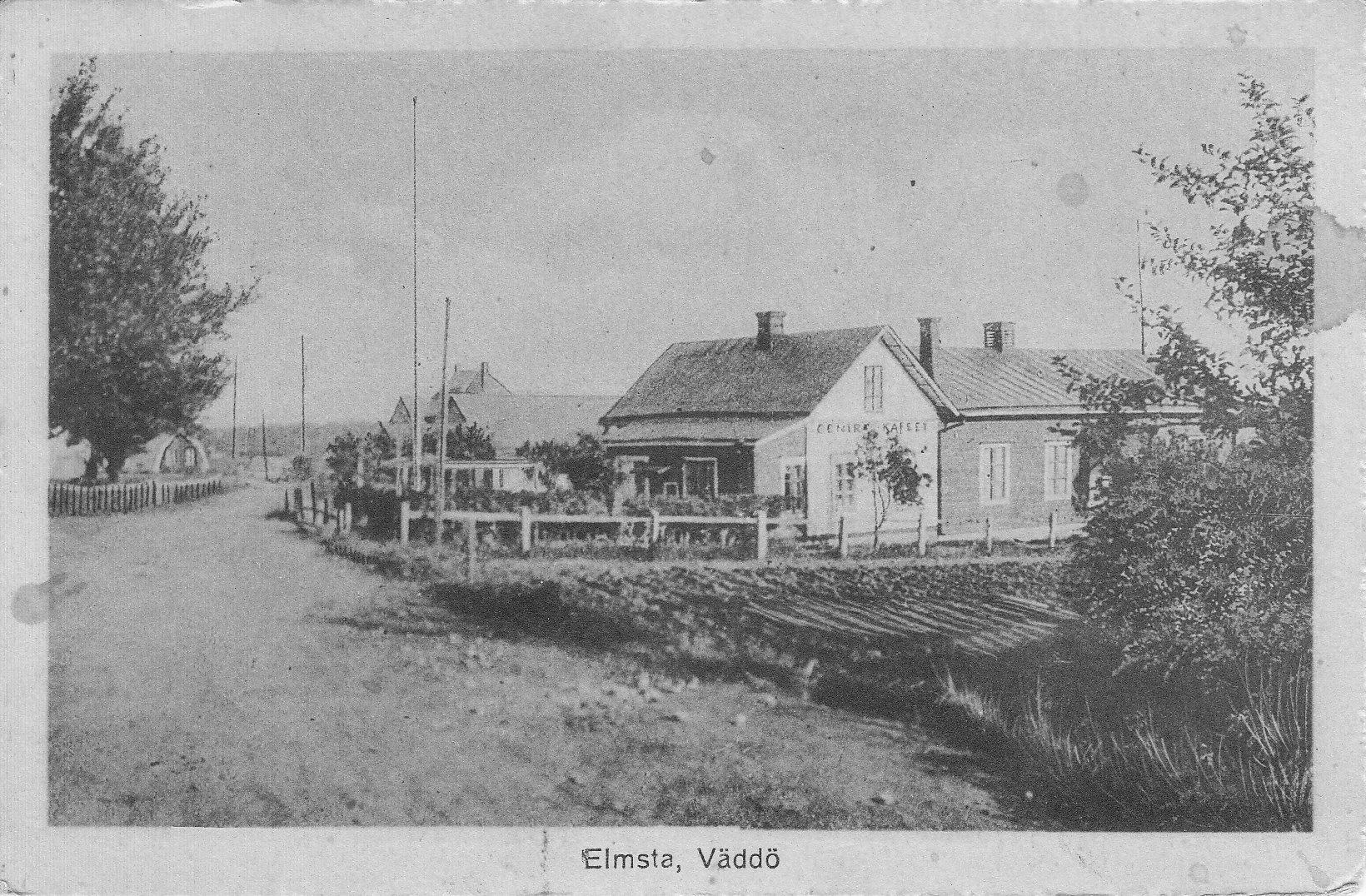 1920/30 tal. Hesslings cafe, bio- och nöjeslokal. Senare Ekenbergs.