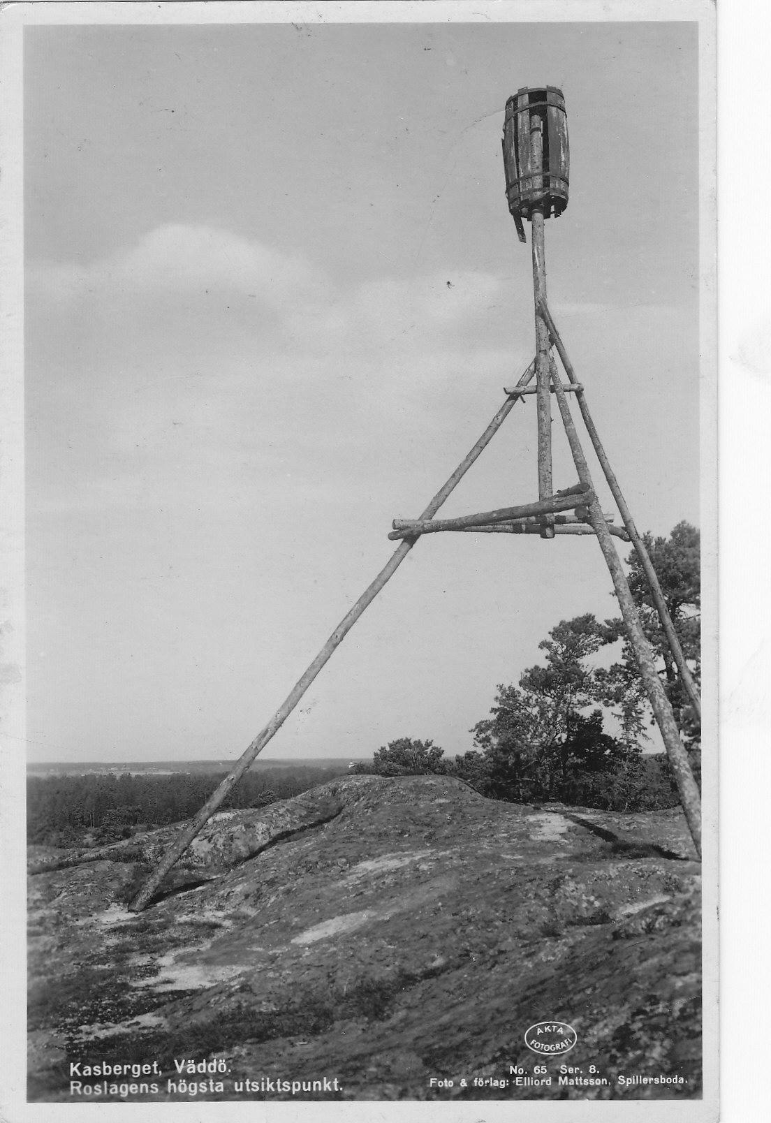 Kasberget på 1940- talet