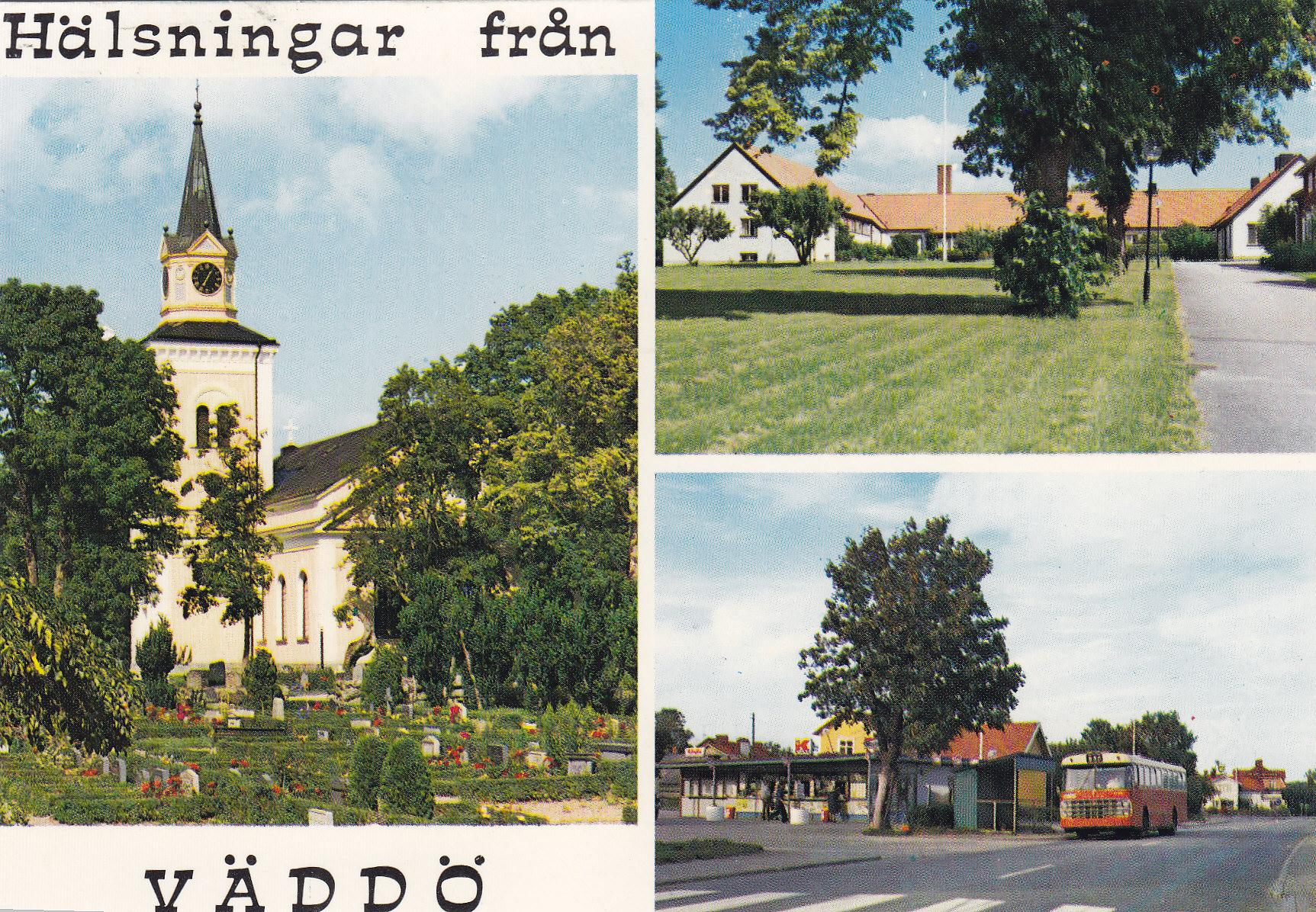 Kortet skickat 1975